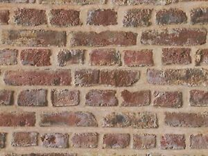 Tapete Backstein-Optik Mauer rot braun 30219-1 (1,61€/1qm)