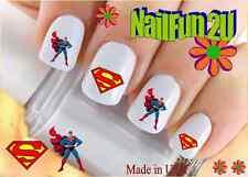 "RTG Set#596 CHARACTER ""Superman Cape"" WaterSlide Decals Nail Art Transfers Salon"