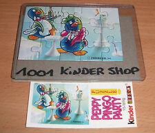 KINDER PUZZLE PEPPY PINGO PARTY 1994 + BPZ (D)