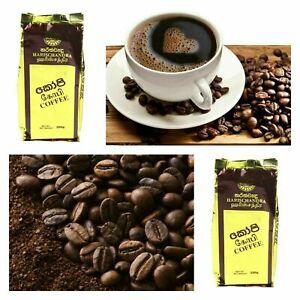 Ceylon Organic Black Coffee Powder HARISCHANDRA Coffee Real Taste Sri Lanka