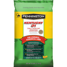 Grass Seed Fescue Drought-Resistant Lawn/Garden 25/40 lbs 5000/8000 Cu Ft