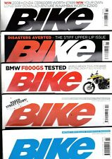 Various Issues of BIKE Magazine from Spring 1972 to April 2018