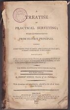 A TREATISE OF PRACTICAL SURVEYING. By Robert Gibson, 1798- The Eighth Edition.