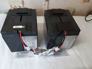 Original RBC55 2(2X12V/17Ah) - UPS battery for APC - Serial - 7A1702L21473-(RF3)