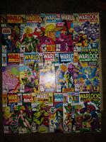 Warlock and The Infinity Watch #1 -17-Infinity Gauntlet-Iron Man-Endgame-KEY-