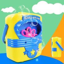 Automatic Electric Handy Bubble Machine Toys Soap Blow Bubbles Blower Make Gift