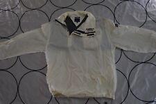 Vintage Men TOMMY JEANS White Windbreaker Hilfiger Jacket Zipper Spell Out Large