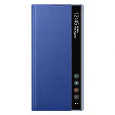 Original Samsung Clear View Cover EF-ZN975 für Galaxy Note 10+ (Plus) Blau Blue