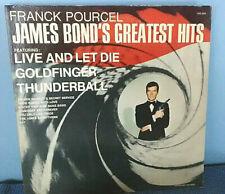 FRANCK POURCEL - 'JAMES BOND'S GREATEST HITS'   1973 LP