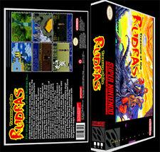 Treasure Of The Rudras  - SNES Reproduction Art Case/Box No Game.
