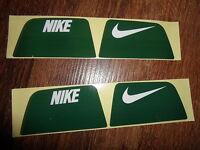 Nike Visionshield Visor for GREEN Football Helmet Licensed Decals (2) Sets