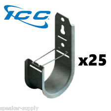 """ICC 25 Pack 2"""" J-Hook Wall Ceiling Mount Route Network Cable Wires ICCMSJHK44"""