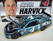 Kevin Harvick 2017 Busch Beer #4 Ford Brilliant Blue Color Chrome 1/24 NASCAR