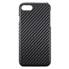 "Apple iPhone 8 7 4.7"" Hard Case Carbon Fiber Skin Muster PC Cover Schale Hülle"