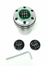 Pomello leva cambio auto UNIVERSALE tuning alluminio manopola Sport GT LED luce