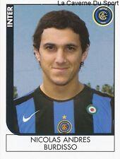 NICOLAS BURDISSO ARGENTINA INTER RARE UPDATE STICKER CALCIATORI 2006 PANINI