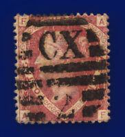 1870 SG51 1½d Rose-Red Plate 3 G6(1) AF Charing Cross Good Used Cat £75 csvf