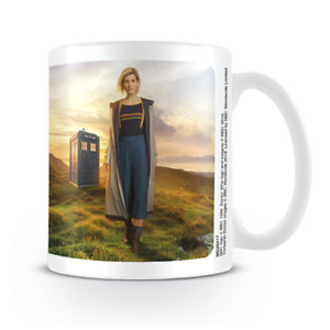 DOCTOR WHO 13th DOCTOR CERAMIC COFFEE MUG OFFICIALLY LICENSED FREE SHIPPING USA