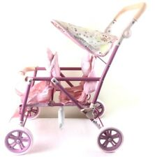 Baby Annabell Double Doll's Pram Tandem Twin Zapf Creations Lovely Girls Gift 3+