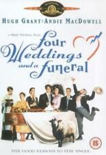 FOUR WEDDINGS AND A FUNERAL HUGH GRANT MGM SONY UK 2006 REGION 2 DVD NEW