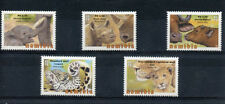 Namibia Elephants Wild Animal Postal Stamps