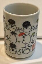 Studio Ghibli My Neighbor Totoro Ceramic Cup 12 oz ounce Tea Mug Made in Japan