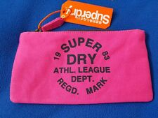 Large Superdry Pencil Case with Navy logo. New with tags.