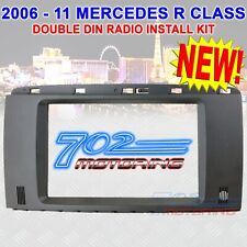 "2006 - 2011 MERCEDES-BENZ ""R"" CLASS DOUBLE-DIN RADIO STEREO INSTALLATION KIT NEW"