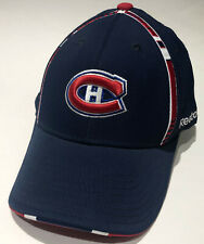 MONTREAL CANADIENS NHL REEBOK FITMAX Embroidered Logo Blue Structured Hat NWT