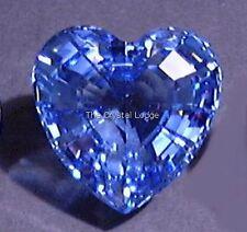 SWAROVSKI CRYSTAL SCS MEMBER 1997 RENEWAL HEART BLUE MINT BOXED RETIRED
