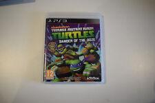 tmnt teenage mutant ninja turtles danger of the ooze ps3 ps 3 playstation  3