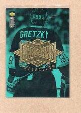 wayne gretzky collection 1995/96 ud choice checklist insert card