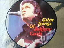 "12"" - Johnny Cash - Great Song Of - Picture Vinyl ---"