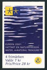 Sweden 2001 Kr28 Europa booklet Sc# 2413a Nh