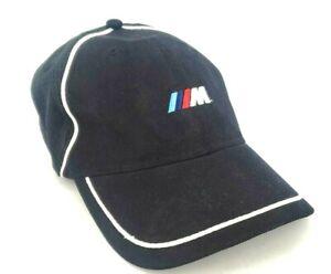 BMW Lifestyle M3 Black Strap Back Hat Vintage