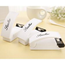 Food Sealer Household Mini Sealing Machine Heat Bag Sealer Capper Food Resealer