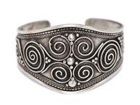 Boho Bracelet Tribal Bracelet Silver Bracelet Tibetan Bracelet Gypsy Bracelet A