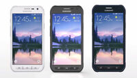 Samsung S6 active G890A 32GB AT&T GSM Unlocked Camo Blue Gray White. LCD BURN