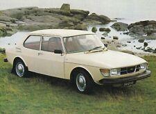 SAAB 99 Limousine 2 Liter 2.0 Youngtimer Classic Car Prospekt Brochure 15