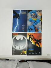 DC BATMAN: THE DARK KNIGHT RETURNS BOOKS # 1-4 MILLER 1986  1st & 2nd PRINTS