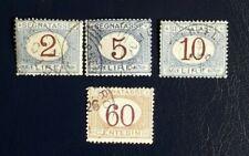 1870/74-1924-Italia-Regno-Segnatasse-alcuni valori usati-