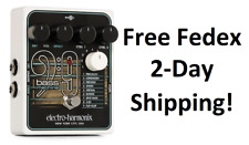 New Electro Harmonix EHX Bass 9 Bass Machine Guitar Effects Pedal!