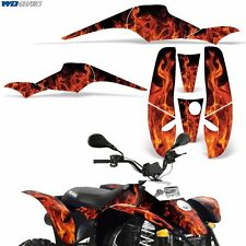 Decal Graphic Kit Polaris Scrambler 500/350 ATV Quad Wrap Part Deco 85-09 ICE O