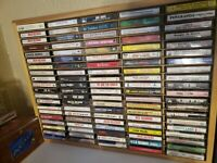 Lot of 10 Random Cassette Tapes