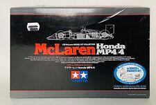 Vintage Tamiya McLaren Honda MP4/4 Model Kit 1/20 Scale