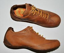 REPLAY SZ 8 N 39 BROWN ALL LEATHER SNEAKERS OXFORDS COMFORT SHOES