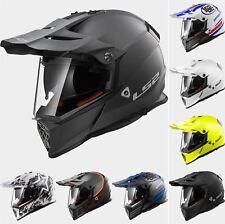 LS2 MX436 Poineer Motocross ATV Off Road BMX Track Road Super Motard Helmet