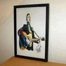 Johnny Cash Relaxing Portrait Music Album Canvas Wall Art Poster Print Singer