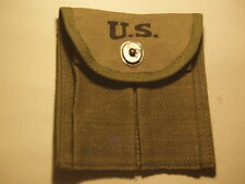 M1 CARBINE BUTTSTOCK POUCH IN DARK OD (REPRODUCTION)