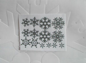 Window Decor Winter Christmas Snowflakes Frost Sticker